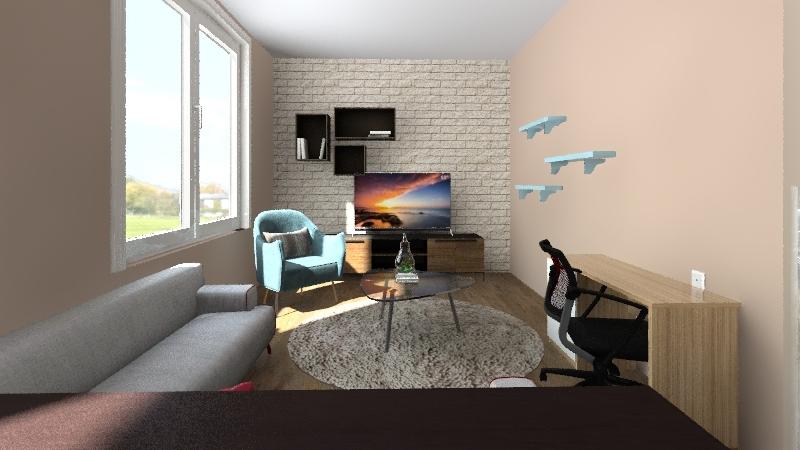 nappalika Interior Design Render