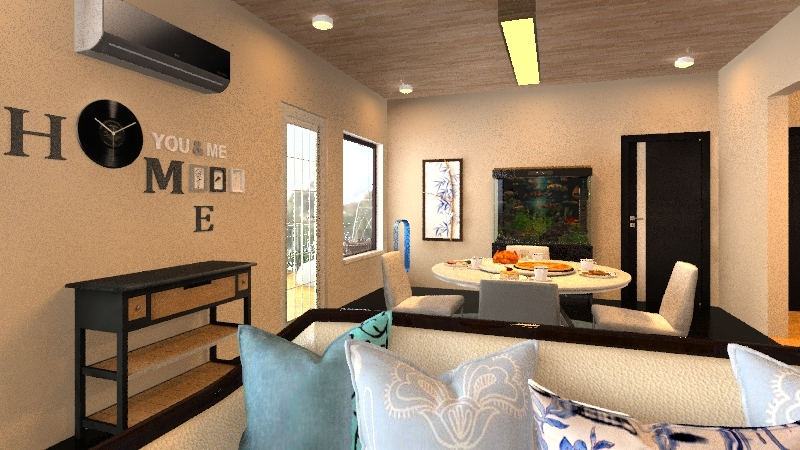 1BR APARTMENT Interior Design Render