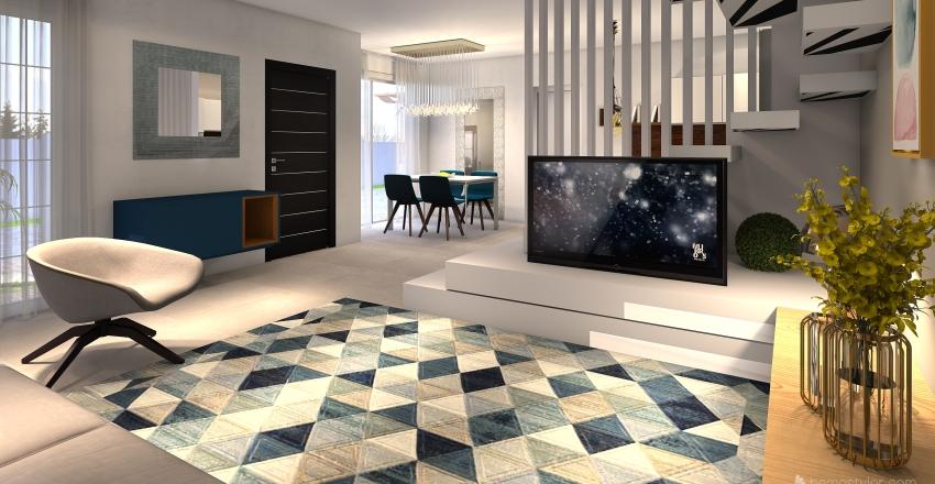 nuovo colore scale Interior Design Render