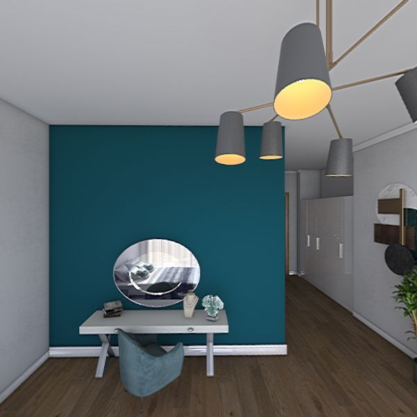 Quarto adaptado  Interior Design Render