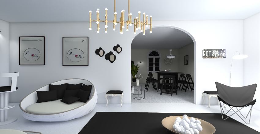 Just Relaxing Interior Design Render