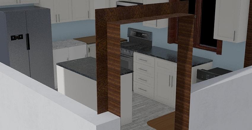 Kitchen minus diagonal Interior Design Render