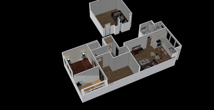 APARTAMENT 79 Interior Design Render