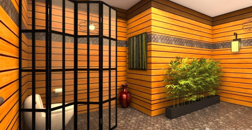 Bamboo Bath Interior Design Render