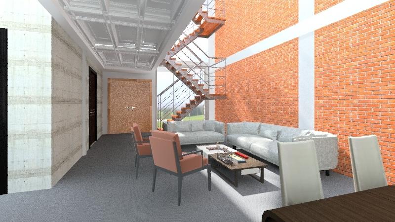 Planta Baja Interior Design Render