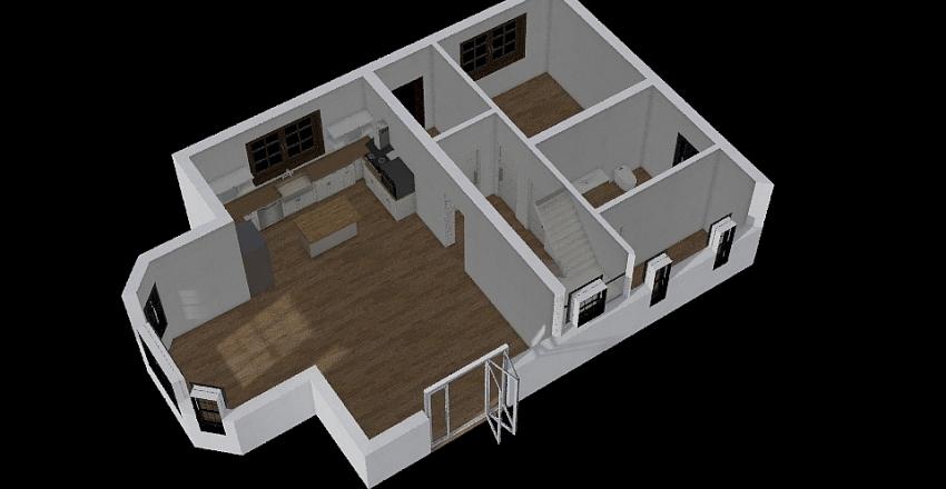 1 Floor Interior Design Render