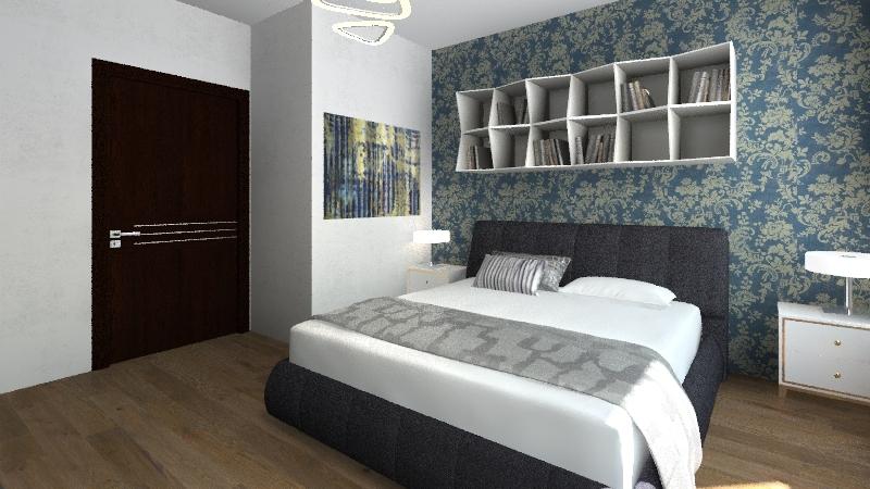 villetta bifamiliare Interior Design Render