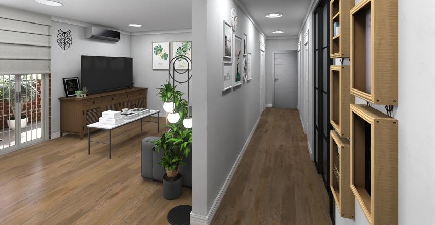 Functional apartment Interior Design Render