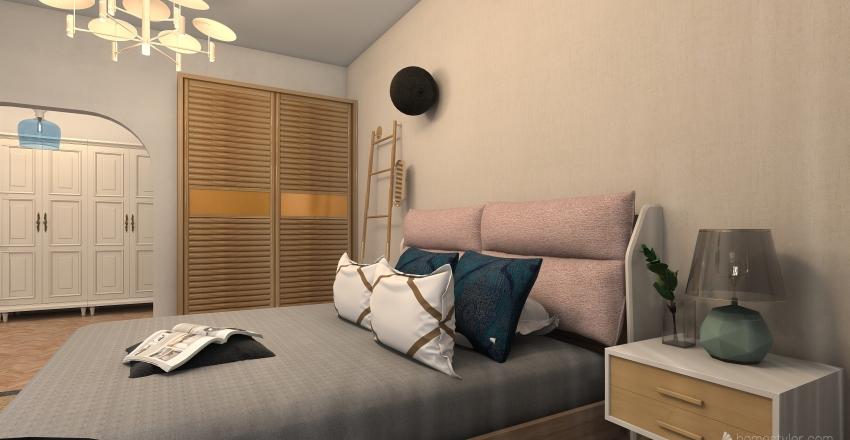 Nordic naturelle Interior Design Render