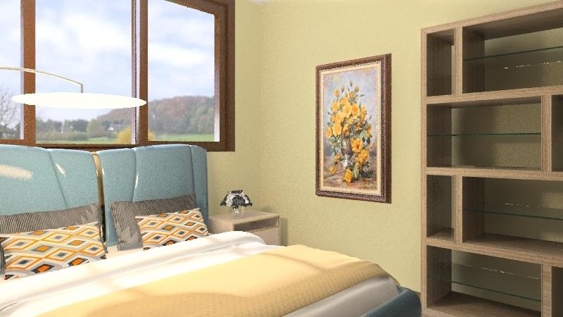 Rustic Family Home Interior Design Render