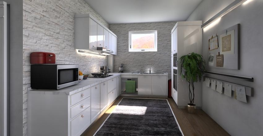 villetta Interior Design Render
