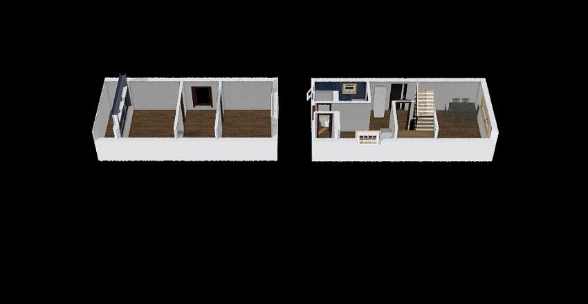 nyaralö Interior Design Render