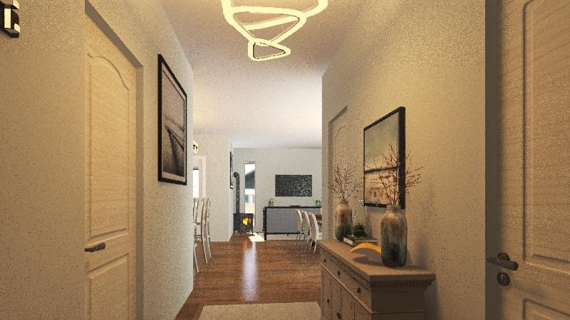 street Interior Design Render