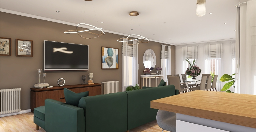Las Acacias 2 Interior Design Render