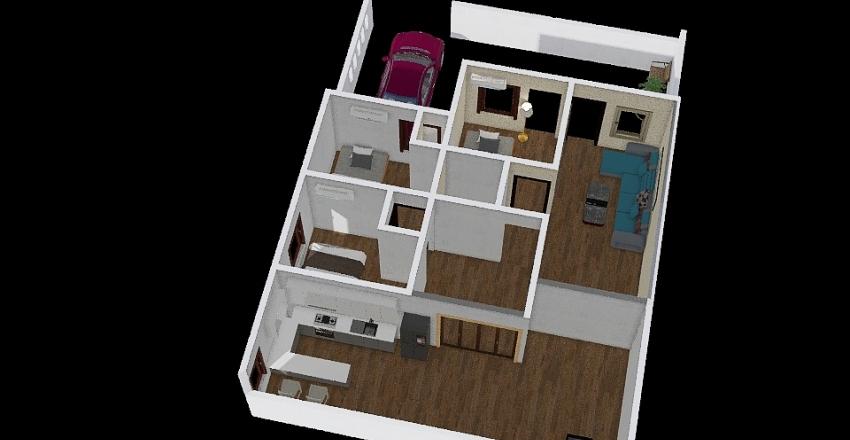 renovasi rumah thp 2 Interior Design Render