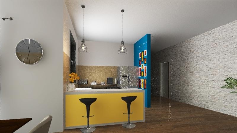 villetta pe Interior Design Render