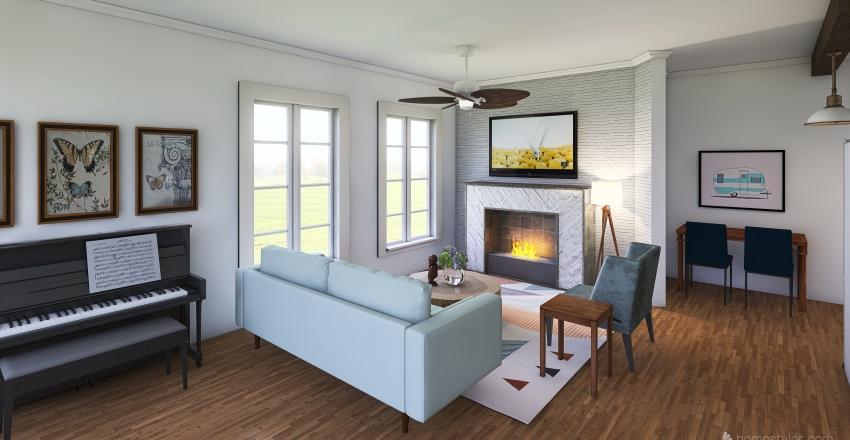 dreamy Interior Design Render