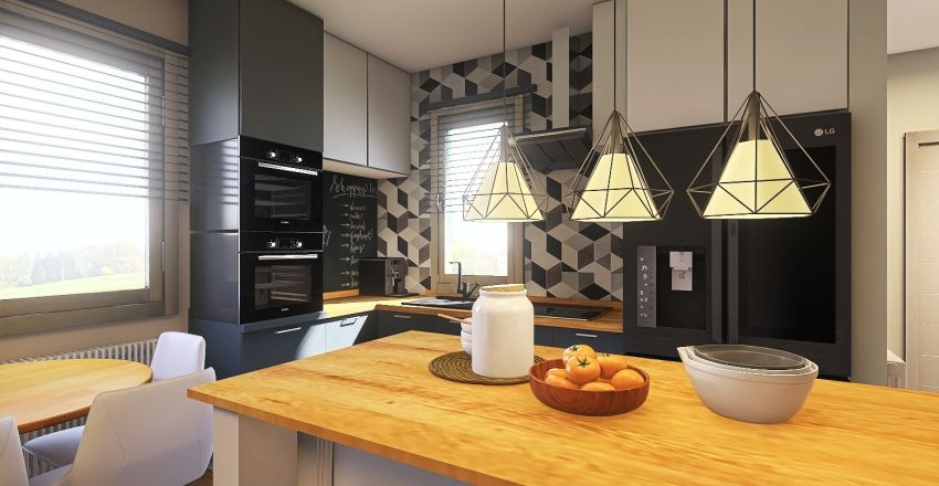 Witkowicka Interior Design Render