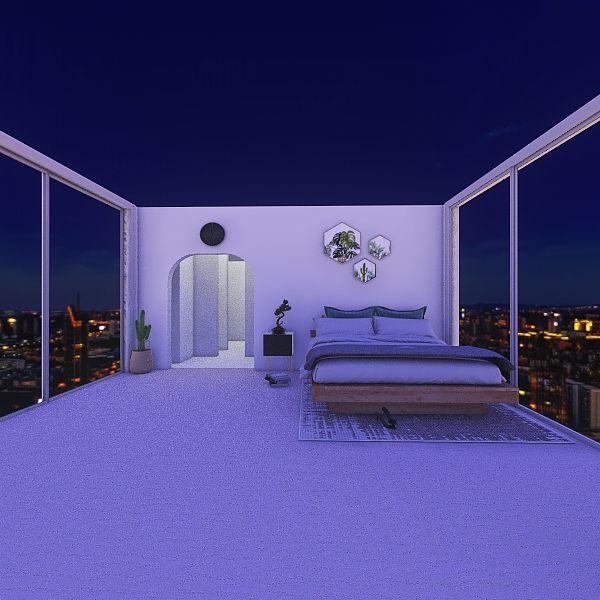 dormire e morire Interior Design Render