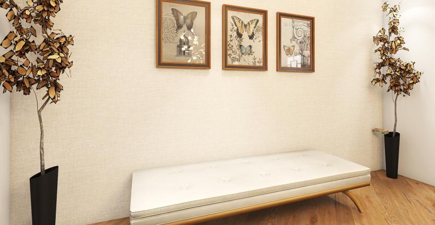 Waiting Room Interior Design Render