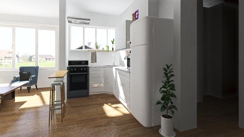 cocina - 1 Interior Design Render