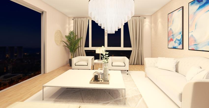 Pink Place Interior Design Render