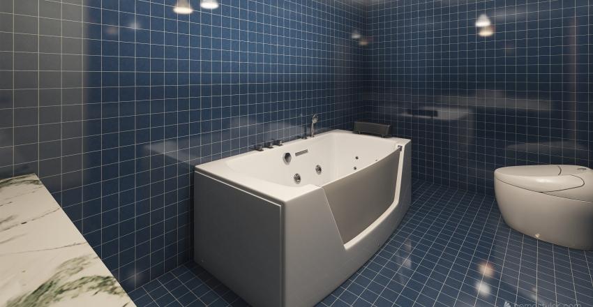 soggiorno di elena e cri Interior Design Render