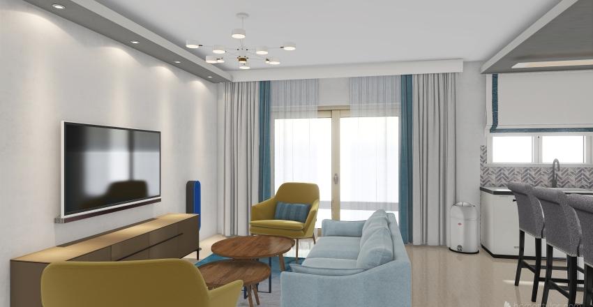katya rabinovich Interior Design Render