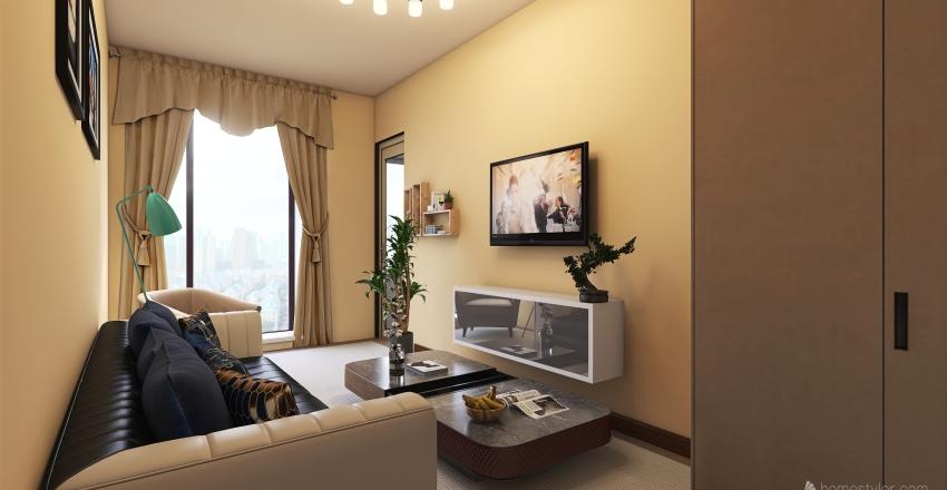 Avalon apartment Interior Design Render
