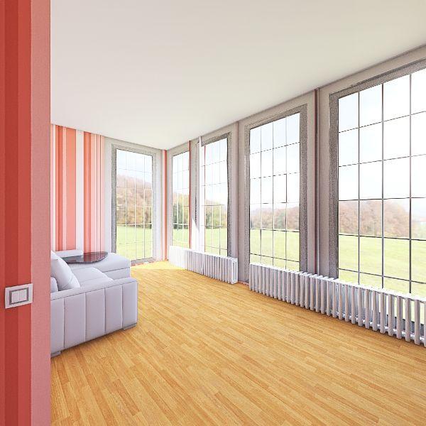 3 room Interior Design Render