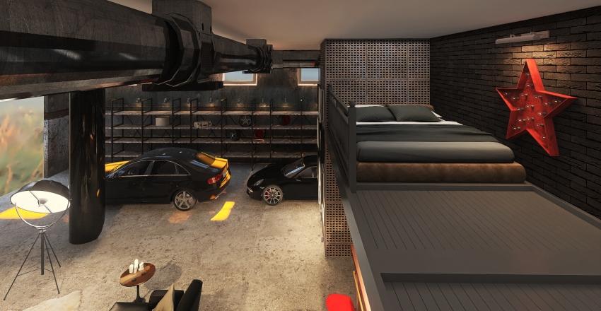 loft 02 Interior Design Render