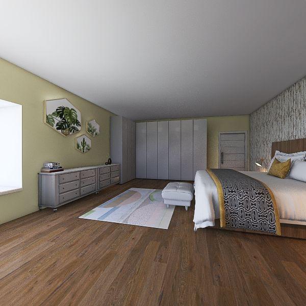 Piso centrico Interior Design Render