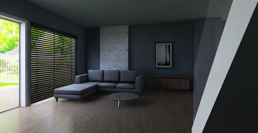 jfk2323-4-czarny-brazowy-bialy Interior Design Render