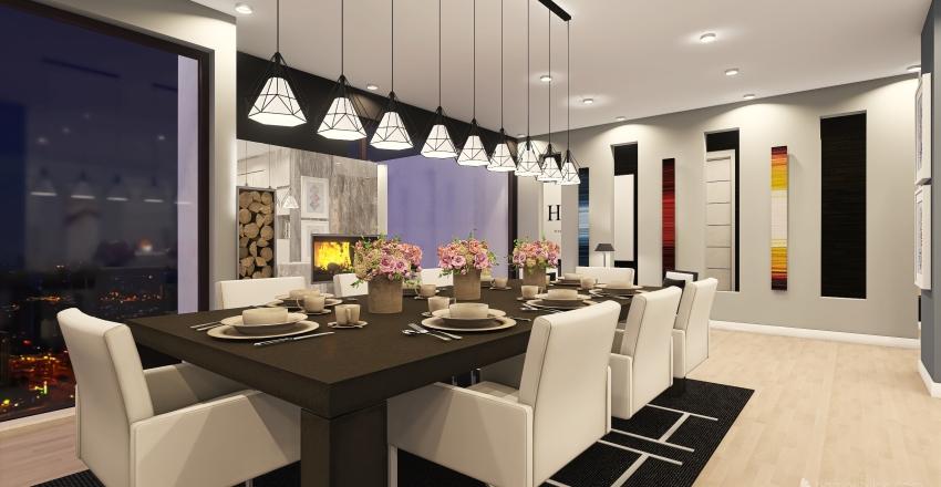 RASHKANN APARTMENTS TYPE 3 Interior Design Render