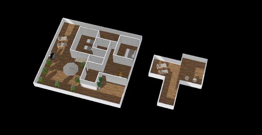 Algarve T2 Interior Design Render
