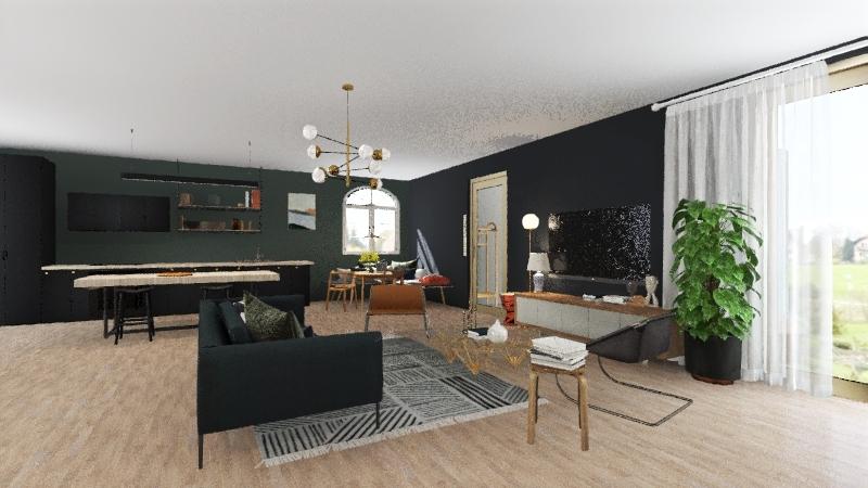 brunswick studio Interior Design Render