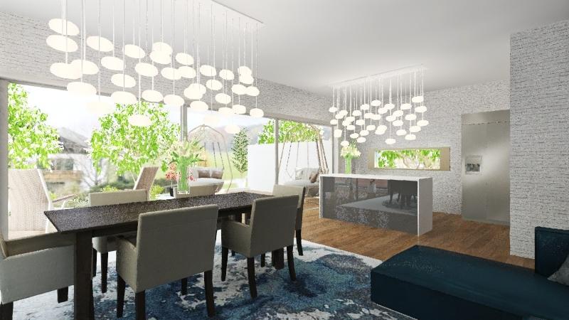 Planta Terra 1 option b Interior Design Render