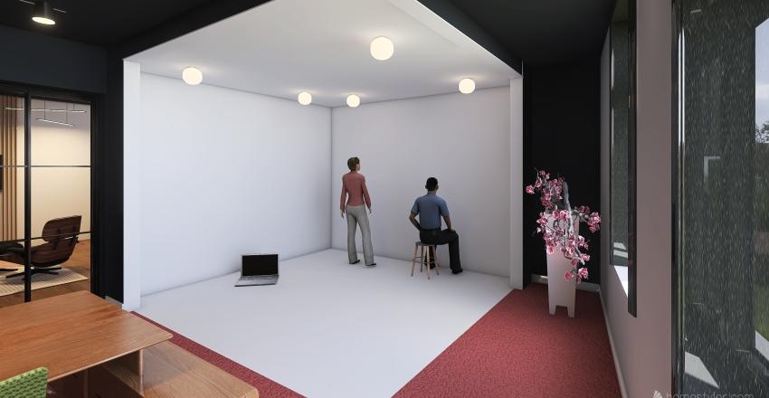 Numitor Space_Basement Interior Design Render
