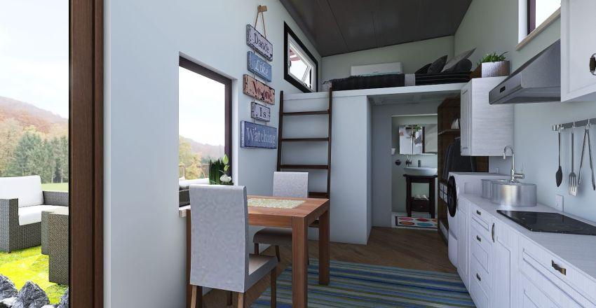 tiny house 2 Interior Design Render