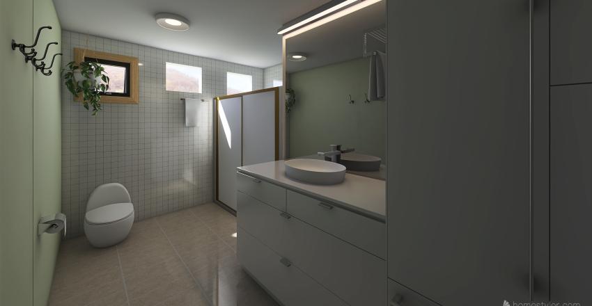 Nossa casa - 2° Andar Interior Design Render