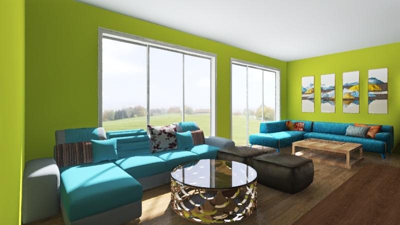 first floor new Interior Design Render