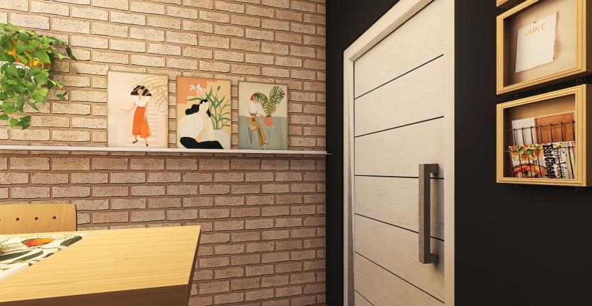 Modern Studio Interior Design Render