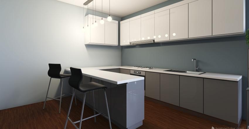 Apartment with view! Interior Design Render