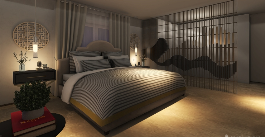 bedroom new Interior Design Render