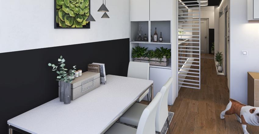 San Francisco Civic Center Apartment Interior Design Render