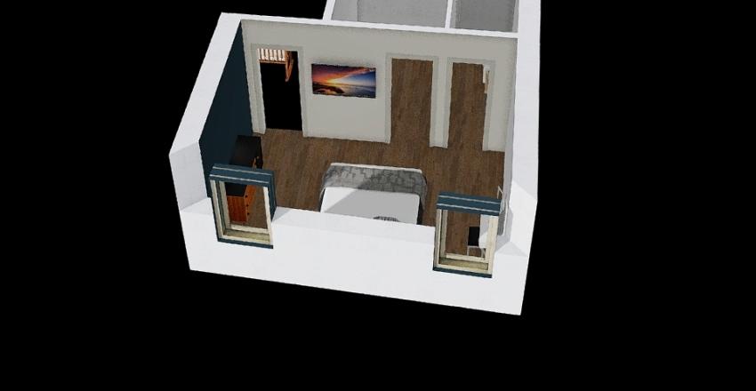 Camera da letto 3 Interior Design Render