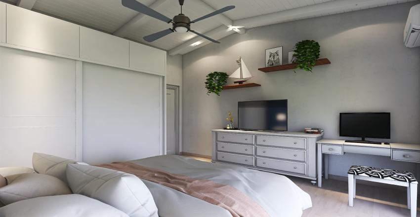 DORMITORIO + BAÑO Interior Design Render