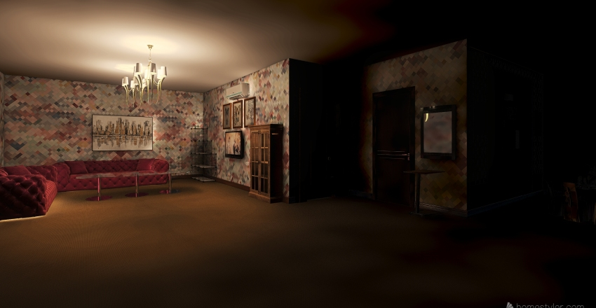 sss first work Interior Design Render