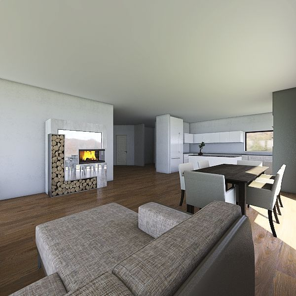 dom v0.0.1 Interior Design Render