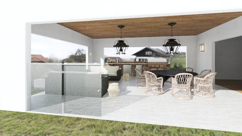 brown3 Interior Design Render